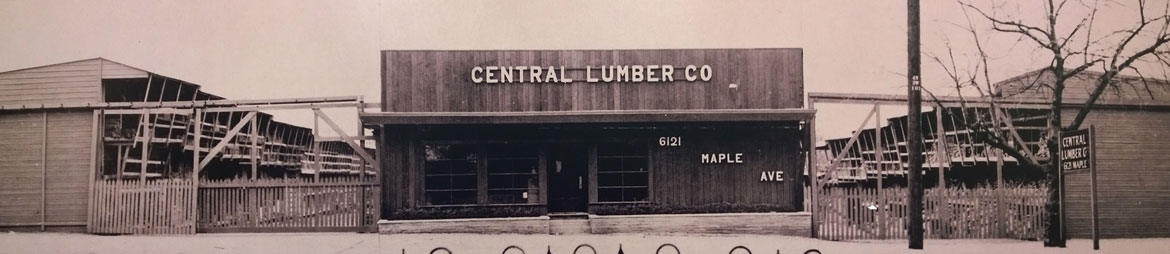 Original Central Lumber Company Building